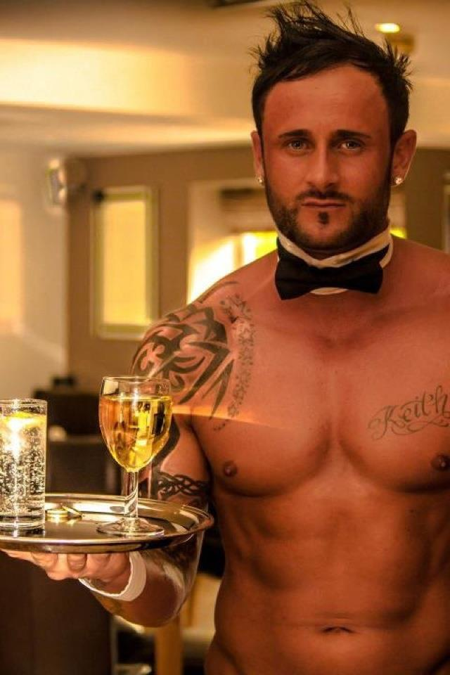 Make your hen party a success with naked butlers from Butlers with Bums