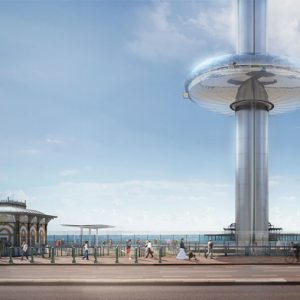 British Airways i360 at Brighton pier