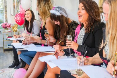 hen party life drawing class