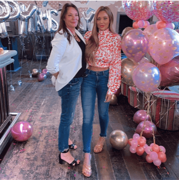 Charlotte Crosby and her mum