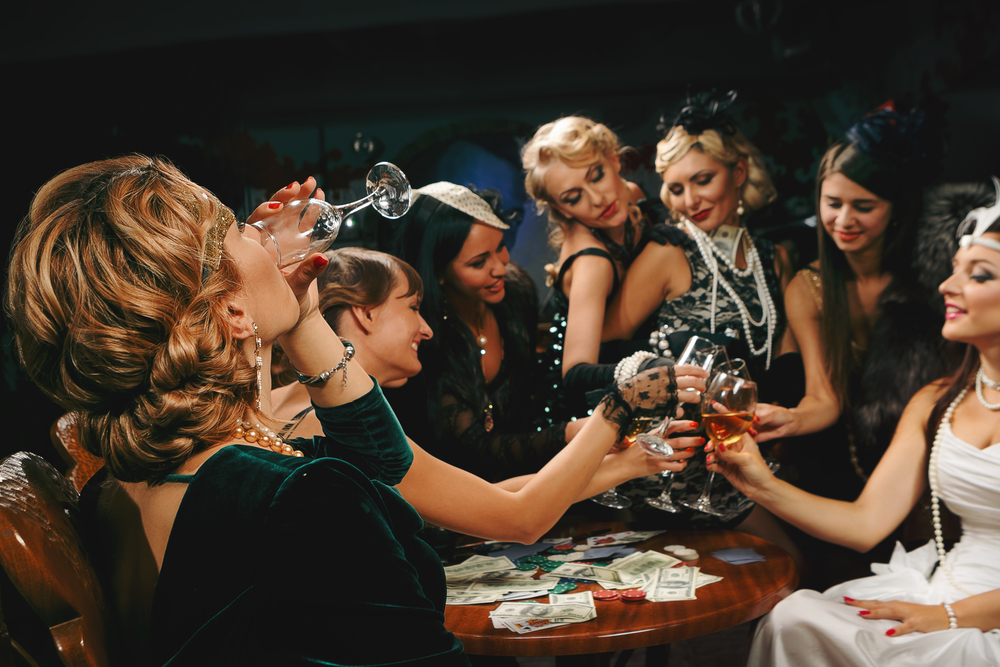 Liverpool hen party vintage photo shoot